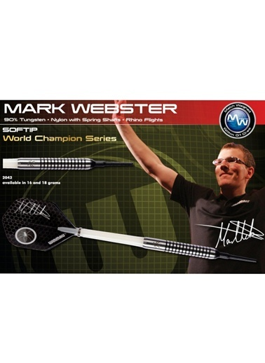 Mark Webster % 90 Tungsten Plastik Uçlu Dart - 18 Gram-Winmau
